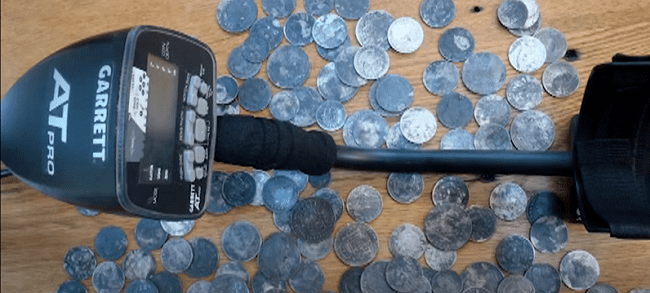 metal detecting for coins